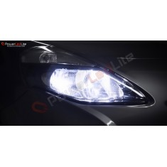 Pack Feux de Route Ampoules Effet Xenon pour Renault Koleos 2
