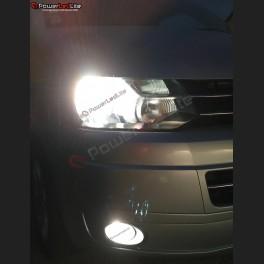 Pack Feux Anti Brouillard Ampoules Effet Xenon pour Peugeot Partner III