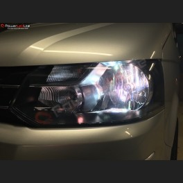 Pack Feux de Croisement Ampoules Effet Xenon pour Peugeot Rifter