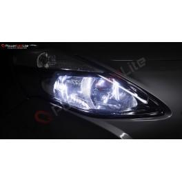 Pack Feux de Croisement / Route Ampoules Effet Xenon pour Honda Civic 7G Simple Optique