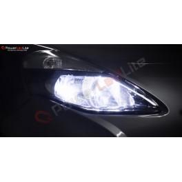 Pack Feux de Route Ampoules Effet Xenon pour Honda Civic 7G Double Optique