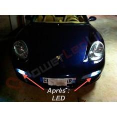 Pack Veilleuses Ampoules LED pour Porsche 968
