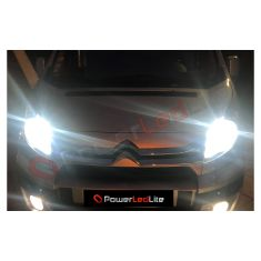 Pack Feux de route Ampoules LED Haute Puissance pour Peugeot Boxer II