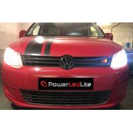 Pack Feux de Croisement / Route Ampoules LED Haute Puissance pour Renault Alaskan
