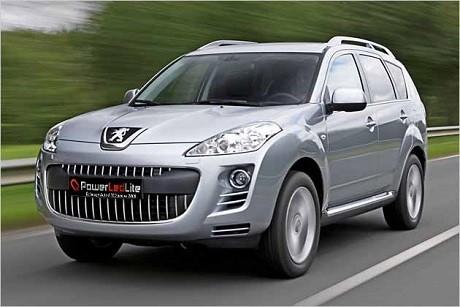 Led Peugeot 4007 (2007-2012)